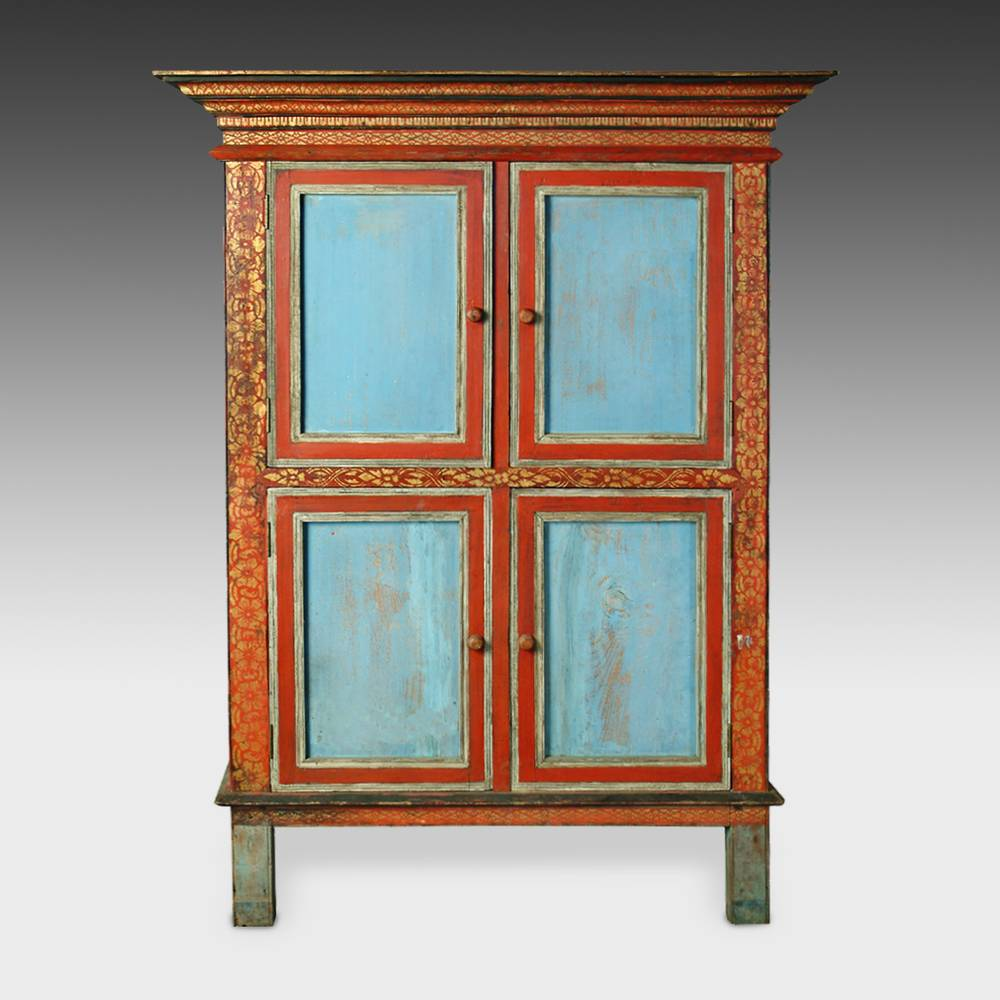 Manuscript Cabinet with 4 Doors