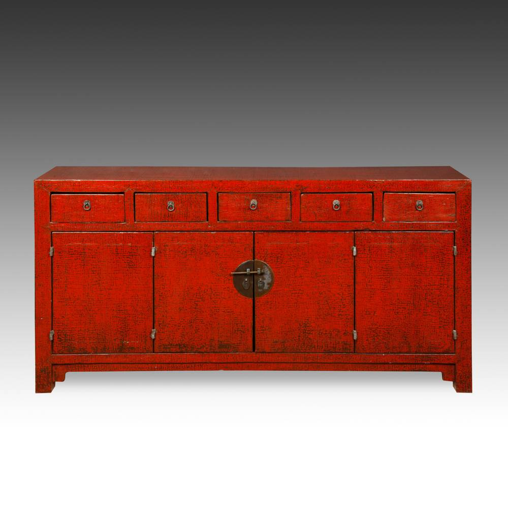 Coffer with 5 Drawers & 4 Doors