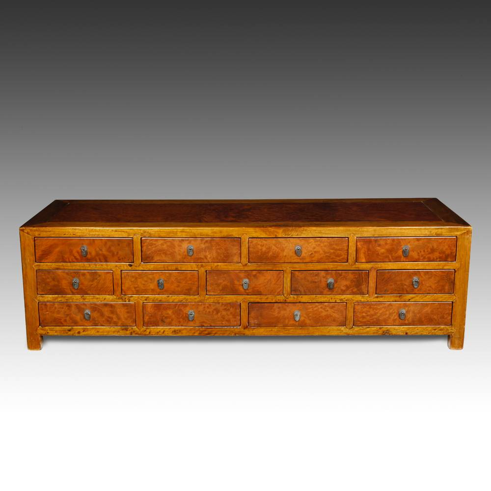 Console Cabinet with 13 Drawers