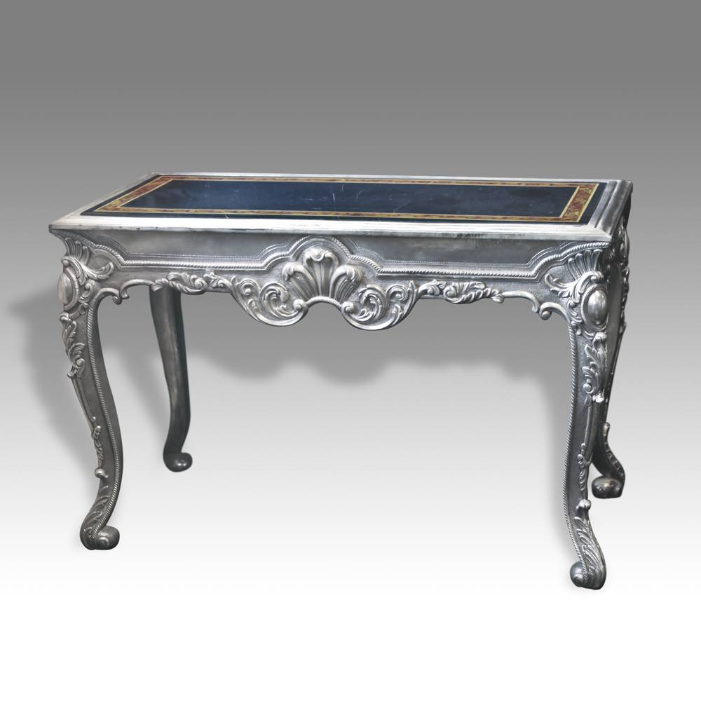 French style Writing Table with Pietra Dura Top
