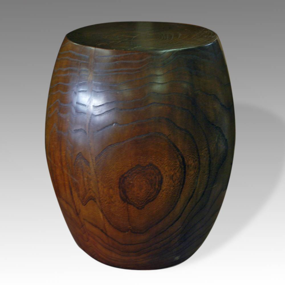 Barrel-Form Stool