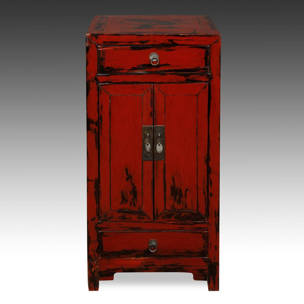 Side Cabinet with 2 Doors and 2 Drawers