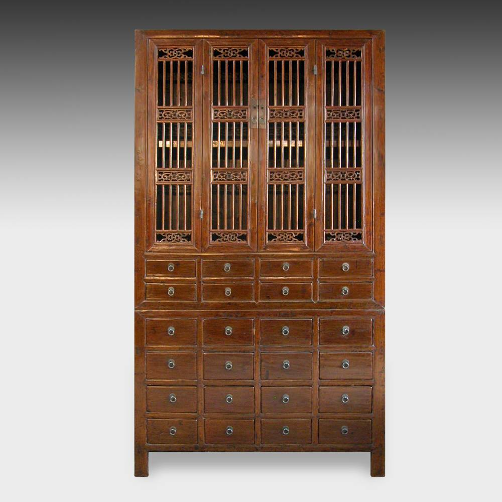 Compound Cabinet with 24 Drawers & 4 Doors
