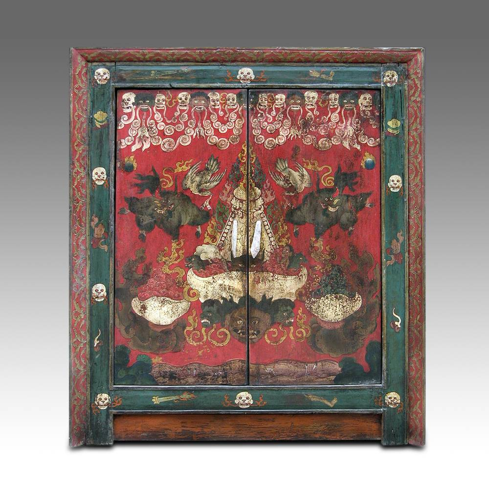 Shrine Cabinet with 2 Doors