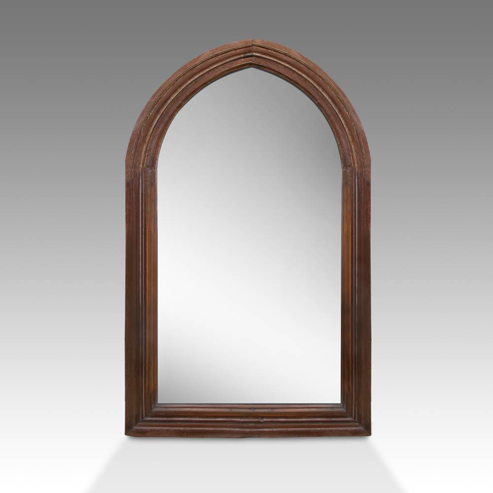 Arch-Form Window Frame Mirror