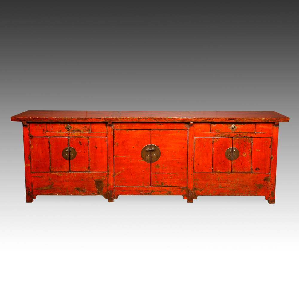 Coffer with 2 Drawers & 10 Doors