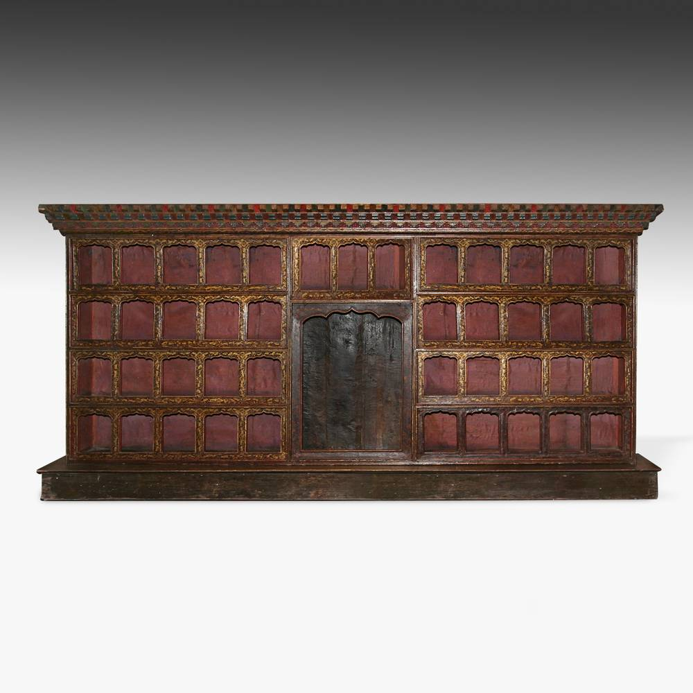Altar Cabinet with 44 Niches