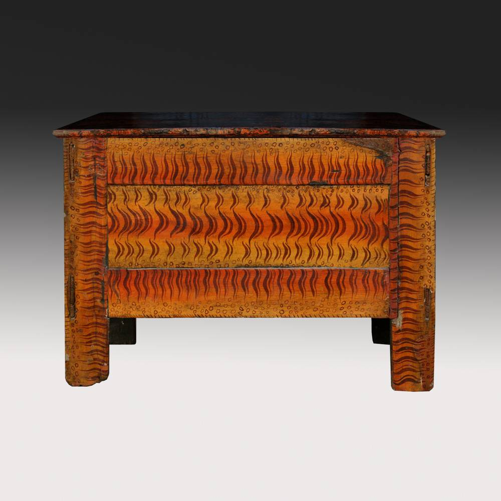 Cabinet with Tiger Motif