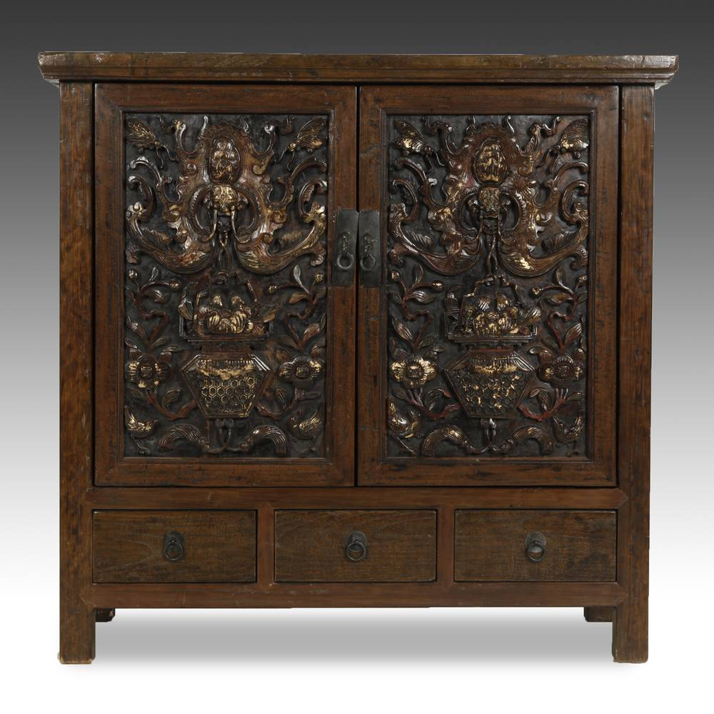 Cabinet with 3 Drawers & 2 Doors