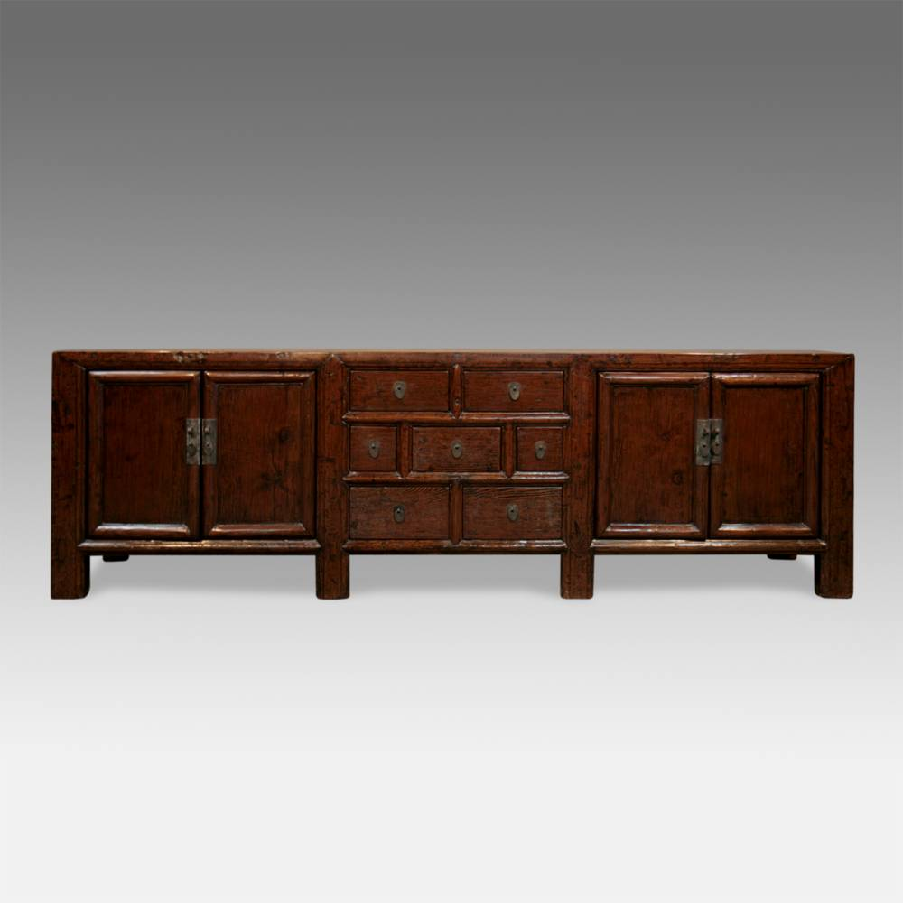 Low Cabinet with 7 Drawers & 4 Doors
