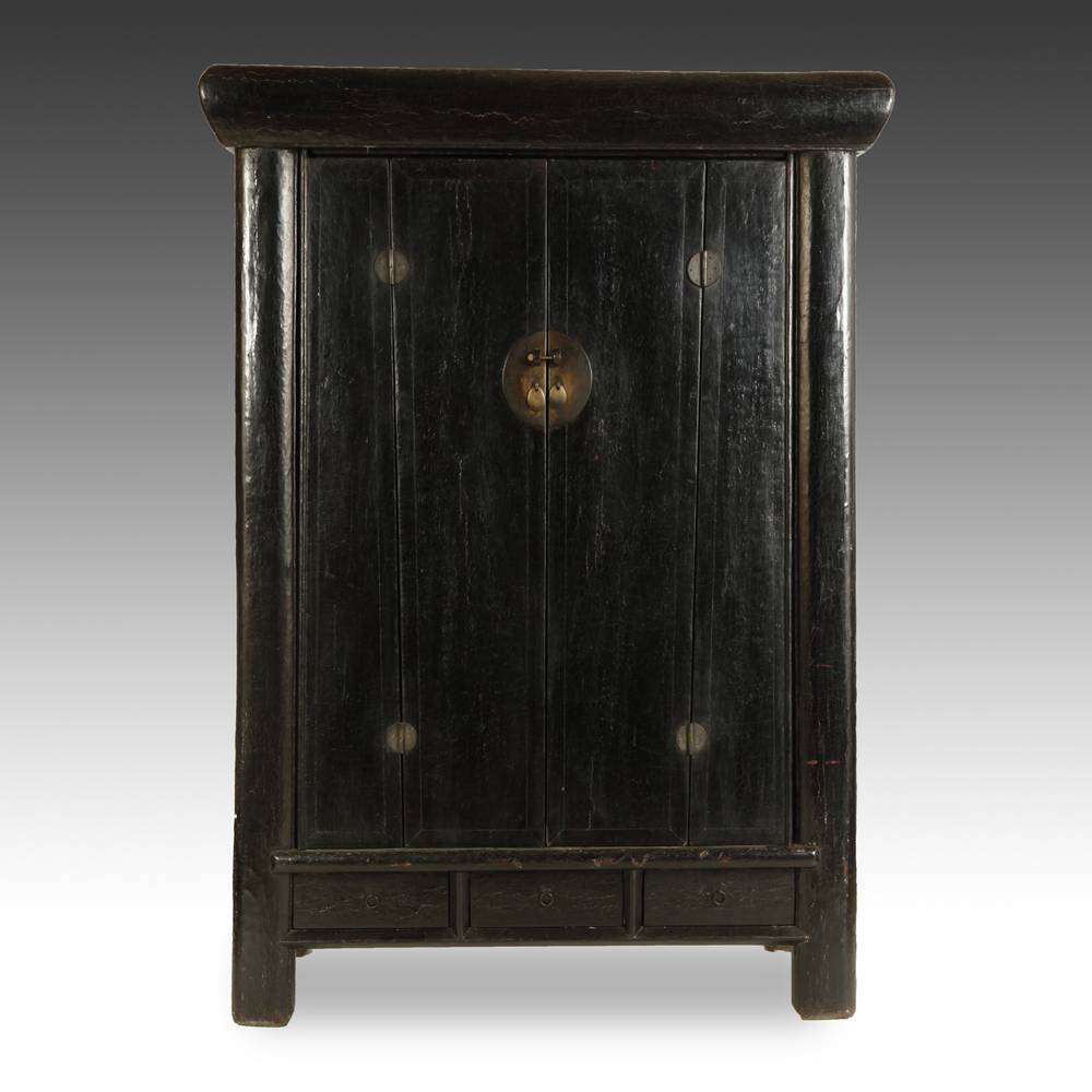 Cabinet with 3 Drawers & 4 Doors