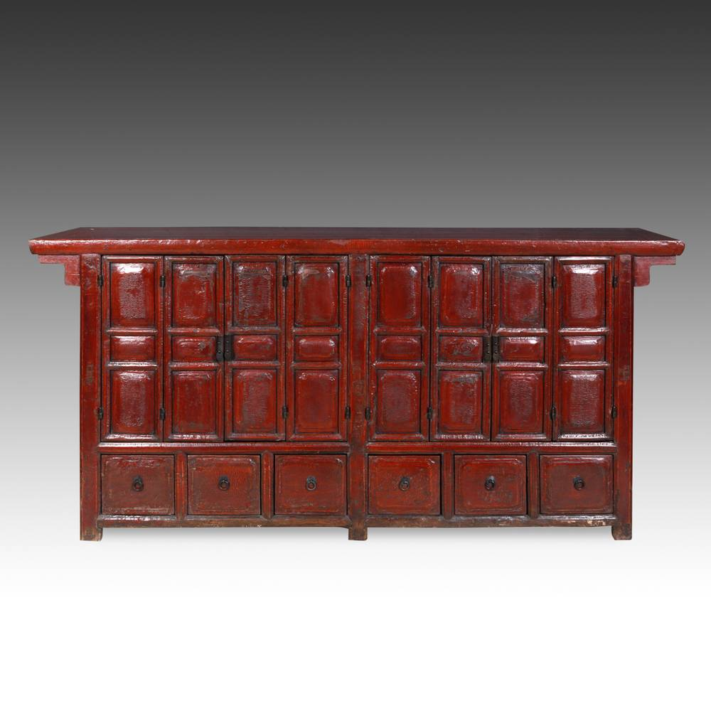 Coffer with 6 Drawers & 8 Doors