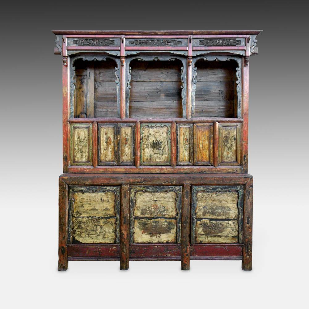 Compound Altar Cabinet with 8 Doors