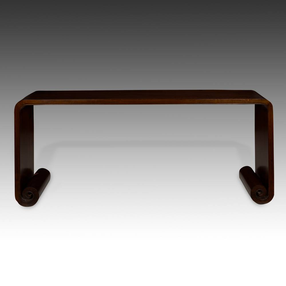Altar Table with Scroll Style Legs