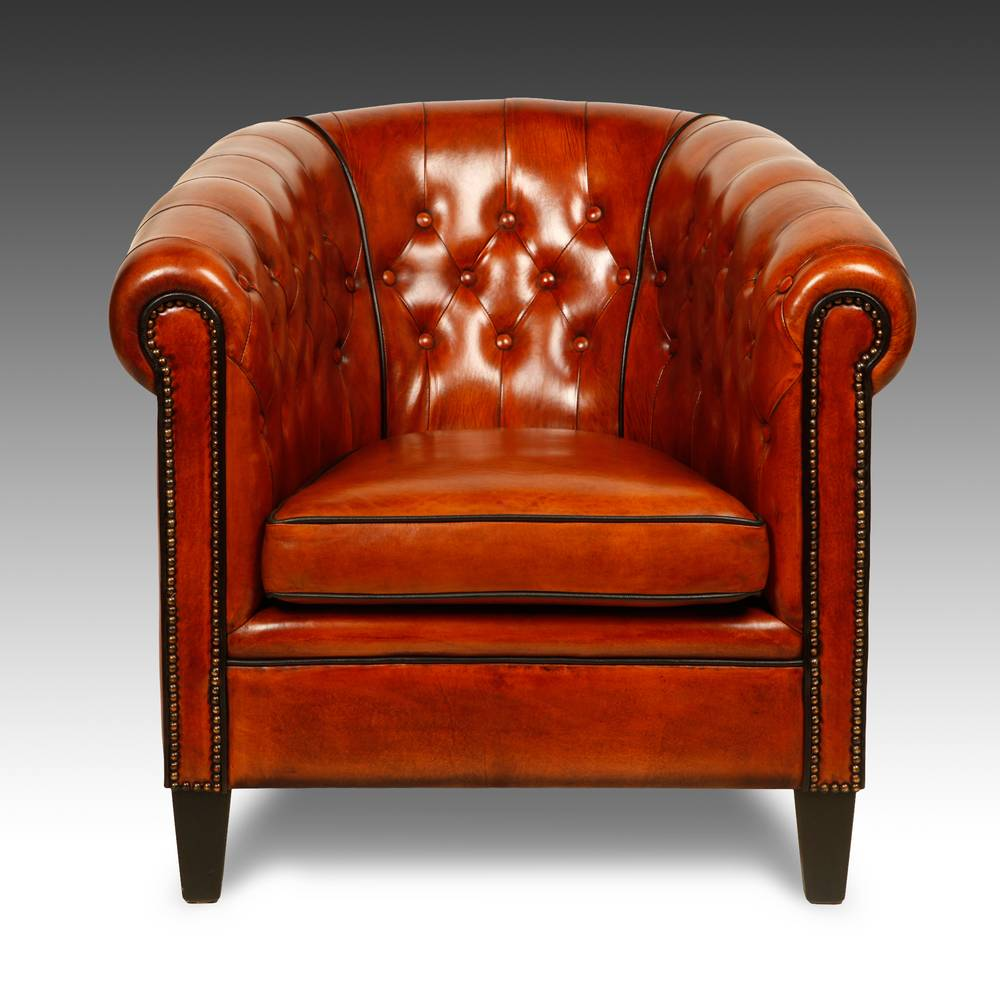 Canterbury Style Club Chair