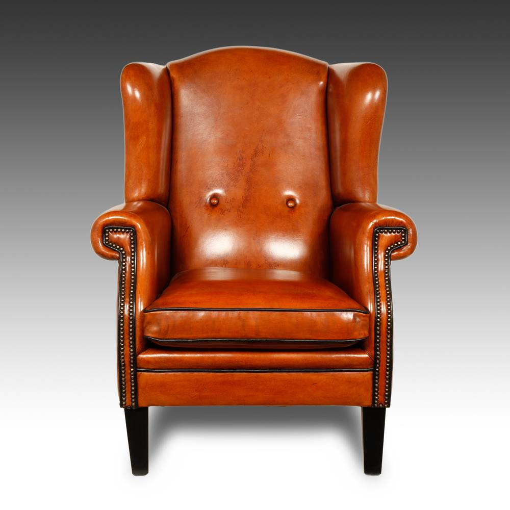 Wing Back Lounge Chair