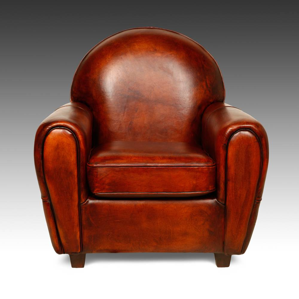 Art Deco Style Lounge Chair