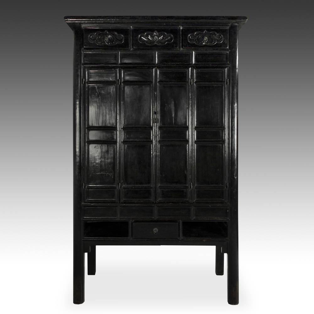 Buddhist Temple Cabinet with 4 Doors, 8 Drawers (4 Interior) and 2 Compartments